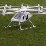 Знакомьтесь - VC200 Volocopter, персональный летающий транспорт будущего